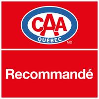 CAA Québec - Recommandé - Logo